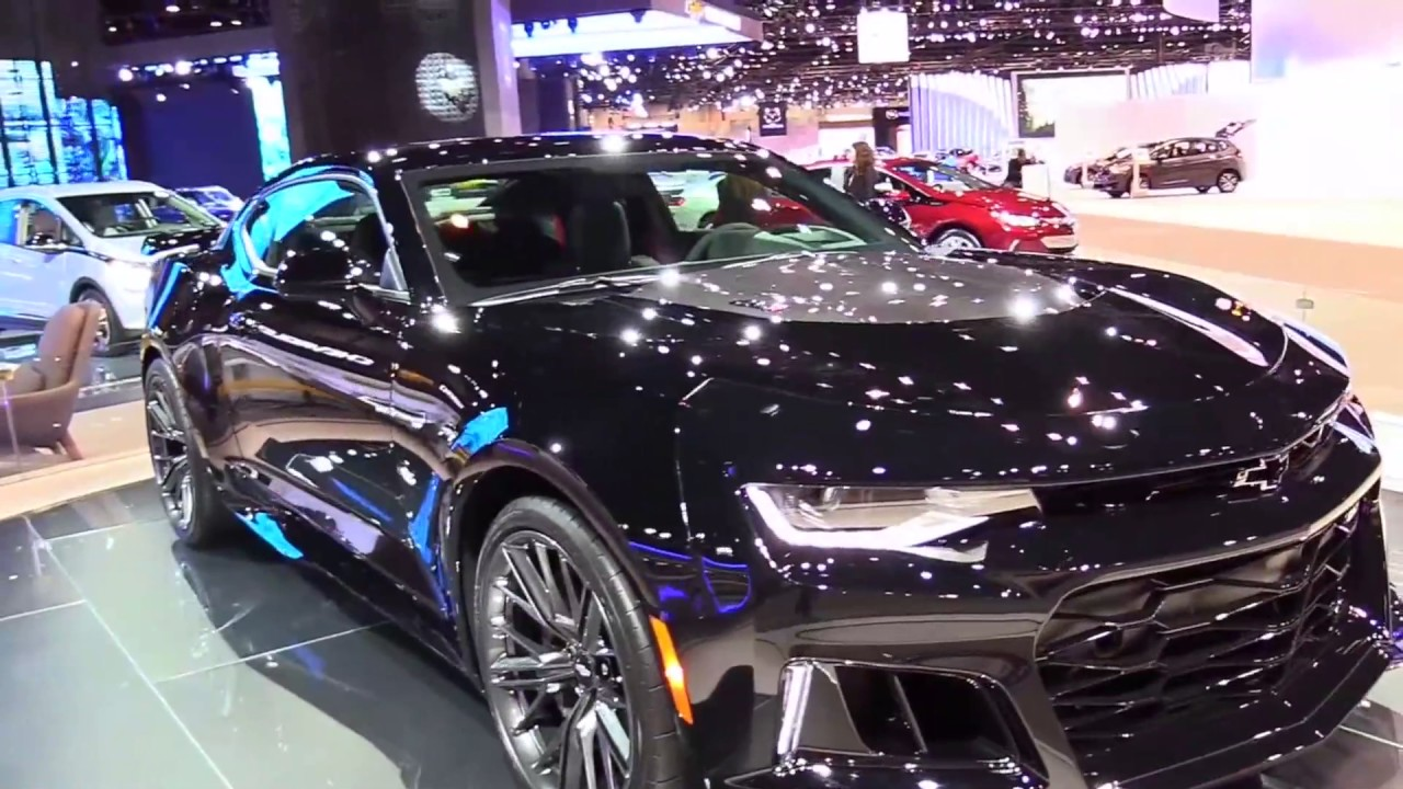 2018 chevrolet camaro zl1 luxury features exterior and interior first impression hd