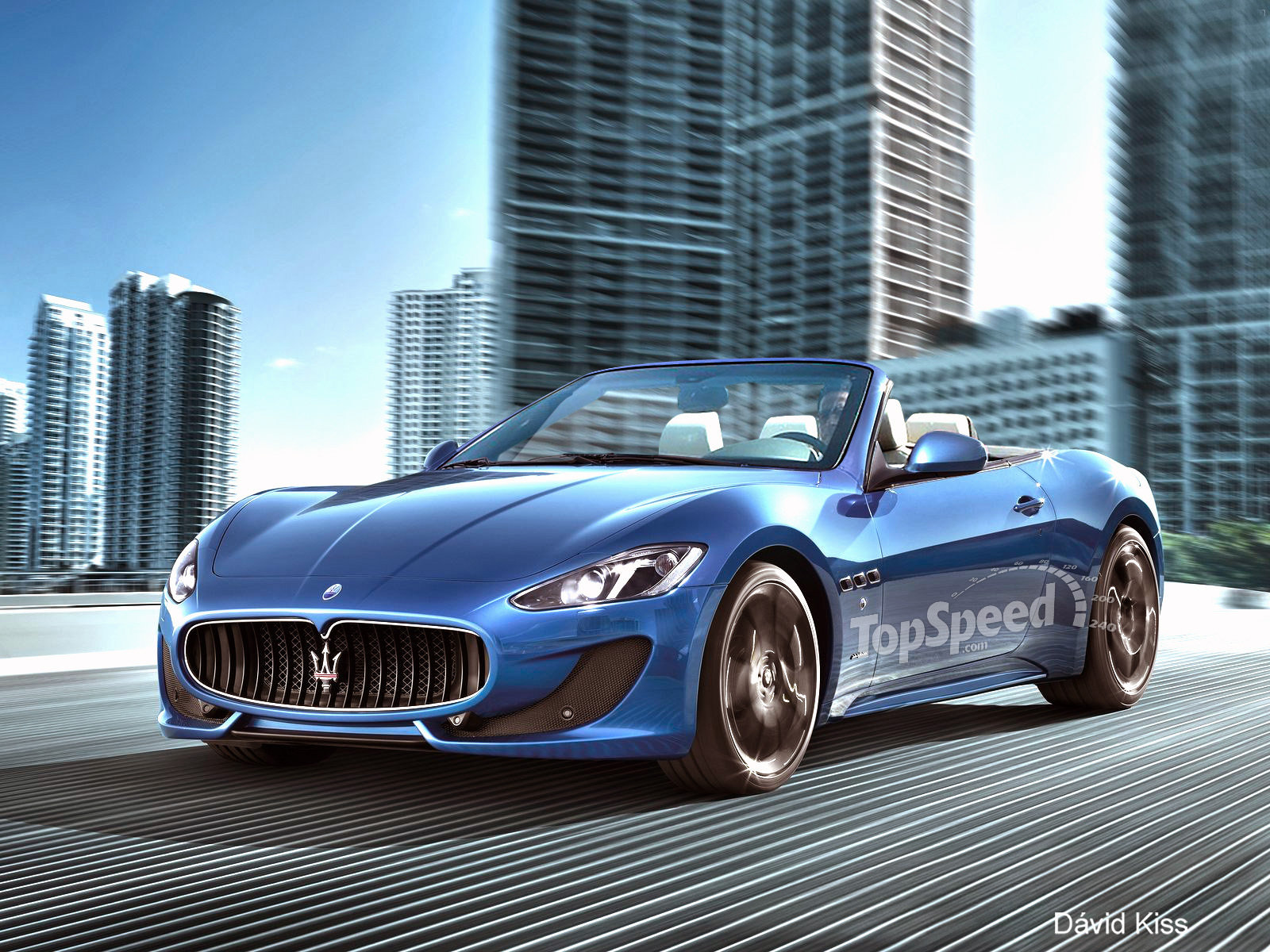 2013 Maserati Grancabrio Sport Top Speed