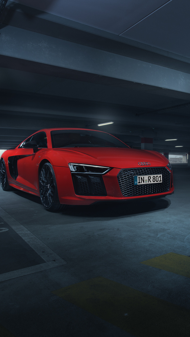 640x1136 Audi R8 V10 Plus In Parking 4k Iphone 5 5c 5s Se Ipod Touch Wallpaper Cityconnectapps