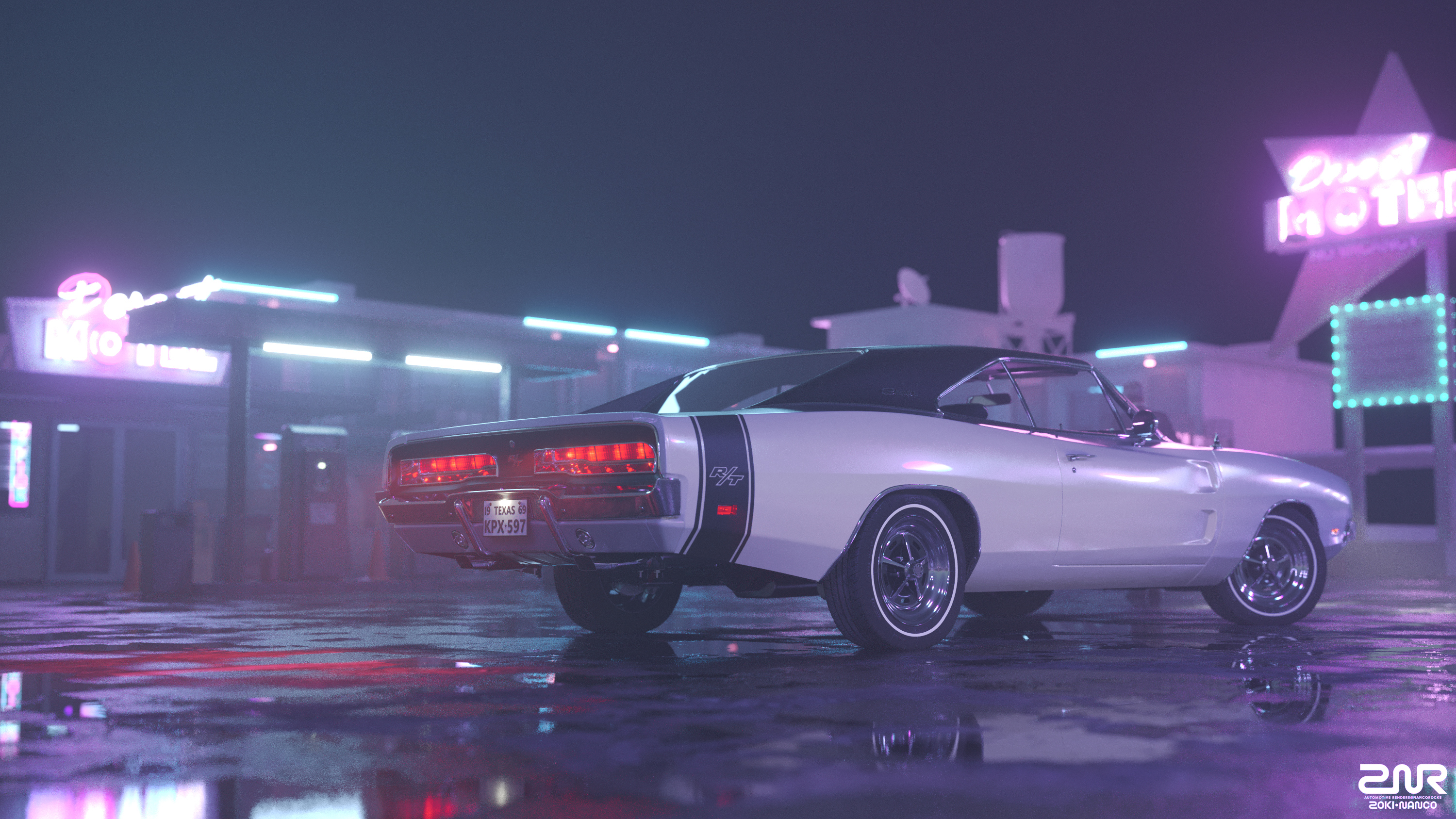 1969 Dodge Charger Rt Rear Hd Cars 4k Wallpapers Images R T