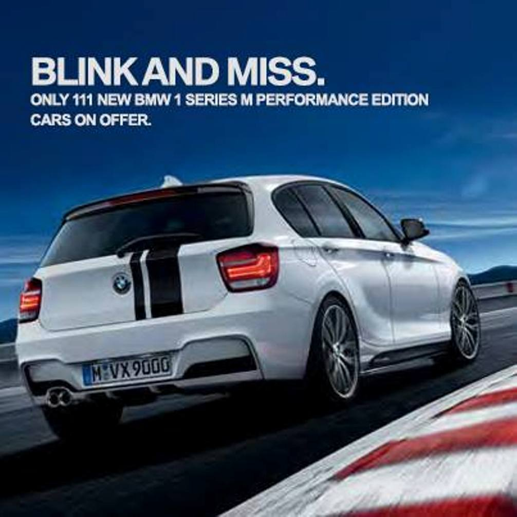 Launched Bmw 1 Series M Performance Limited Edition India