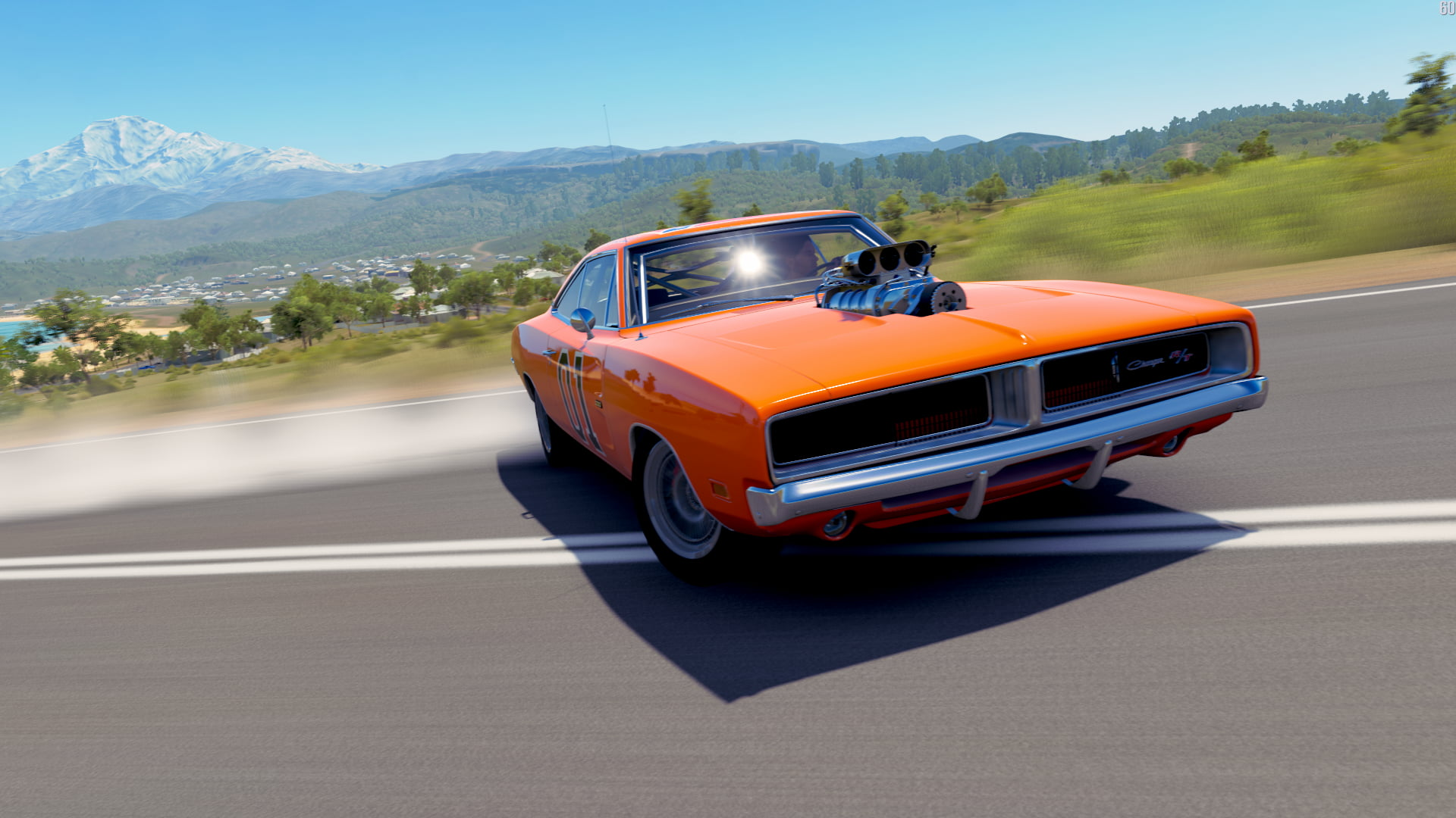 Orange Muscle Car Dodge Charger 1969 R T Wallpaper Hd