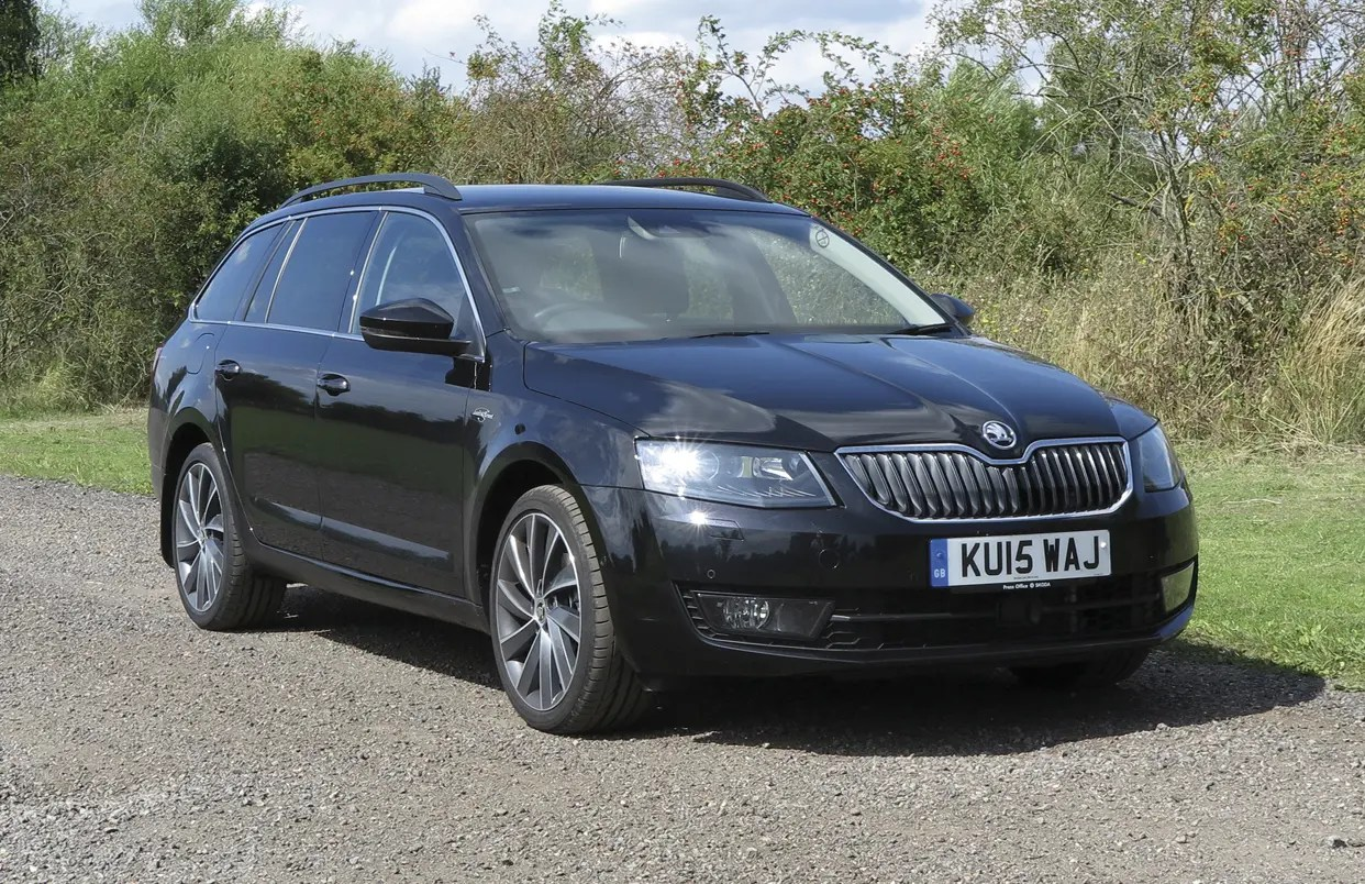 60 Second On Test Report 2015 Skoda Octavia Estate Laurin Superb Klement Cityconnectapps