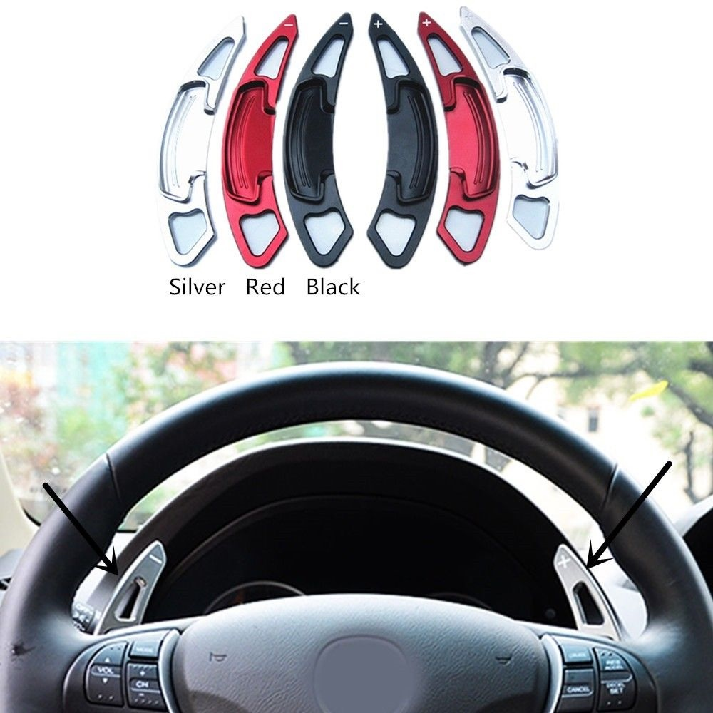 Details About Steering Wheel Shift Paddle Shifter