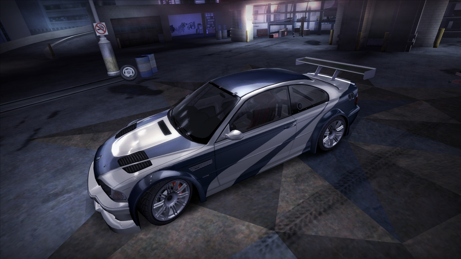 My Bmw M3 Gtr E46 With Hero Vinyl From Nfs Most Wanted 2012 Wallpaper Cityconnectapps