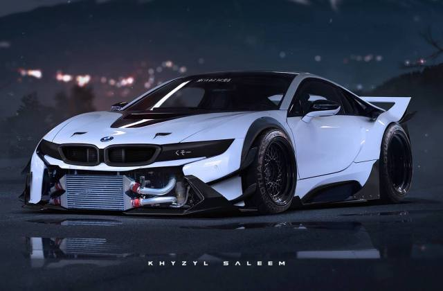What A Bmw I8 Could Look Like With Extreme Jun 01 2015 One Wallpaper For Mobile - Medium