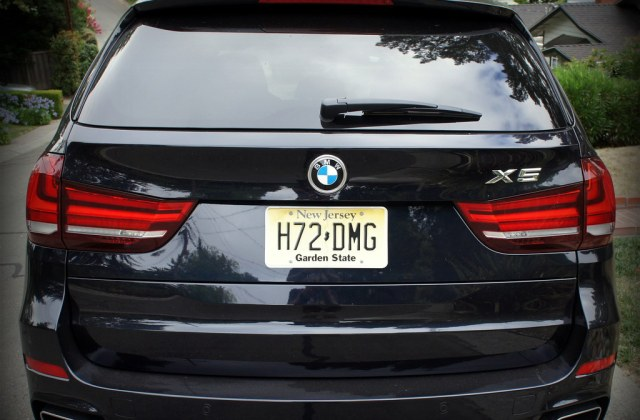 rear view 2014 bmw x5 xdrive 35i photos from a 7 day - medium