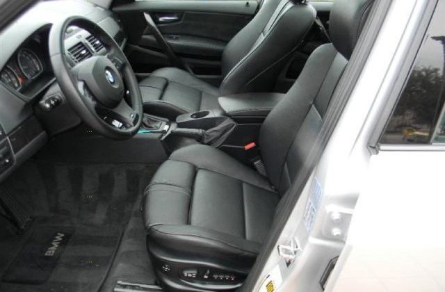 Black Interior 2007 Bmw X3 3 0si Photo 59555868 - Medium