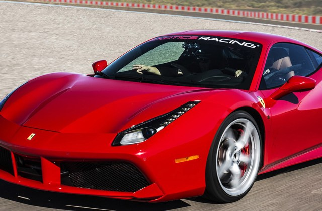 Drive A Ferrari 488 Gtb On Racetrack At Exotics Racing Aerodynamics - Medium