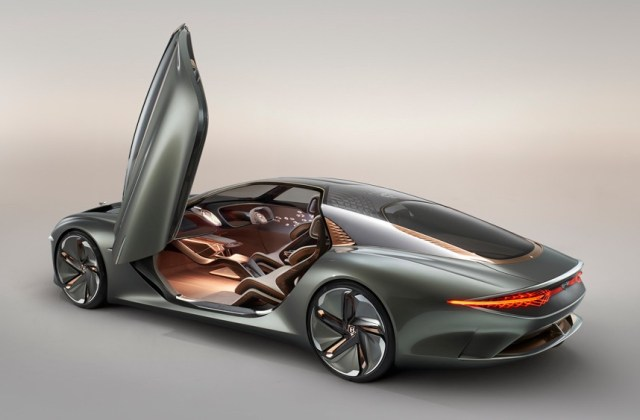 Exp 100 Gt Concept Electric Luxury Car Gives Range Of 700 Km Vehicle - Medium