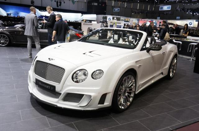 Mansory Bentley Continental Gtc Updated Daily Tuning 2012 Le Ii - Medium