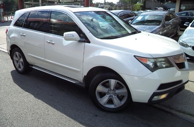 used 2011 acura mdx 6 spd at w tech and entertainment review - medium
