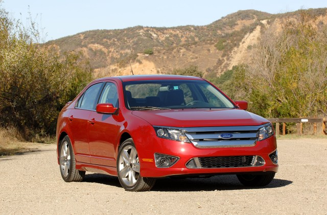 First Drive 2010 Ford Fusion Sport Photo Gallery Autoblog Photos - Medium