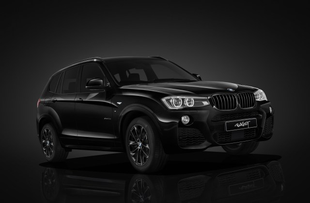 Bmw X3 Blackout Edition Wallpaper Hd Car Wallpapers Id Desktop - Medium