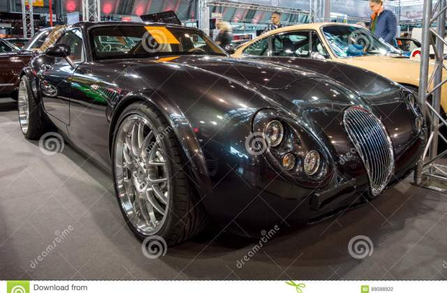 Sports Car Wiesmann Gt Mf4 2011 Editorial Photography And S - Medium