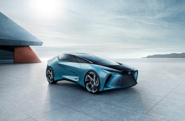 Lexus Teases Its First Electric Vehicles With A Wild Drone Concept Vehicle - Medium