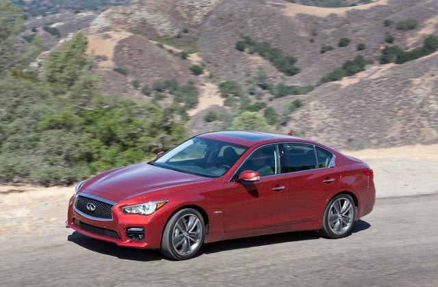 Recalled 2014 Infiniti Q50 Sedan 1 2 Million Michelin - Medium