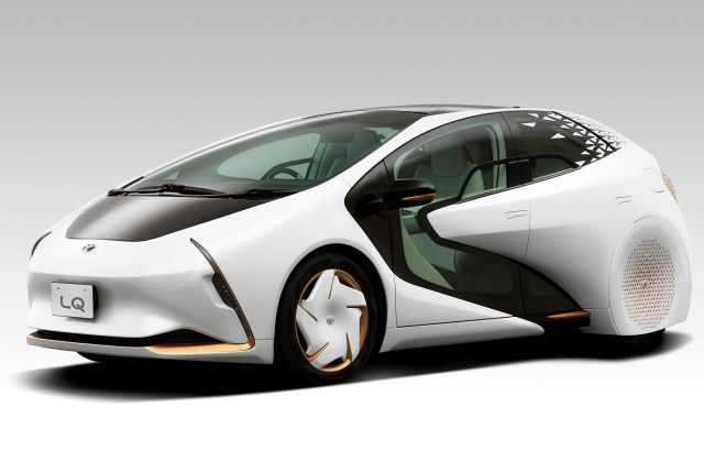 Toyota S Lq Concept Creates A Bond Between Car And Driver Electric Vehicle - Medium