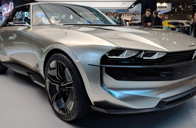 Peugeot S E Legend Concept Is A Muscle Car For The Electric Vehicle - Medium