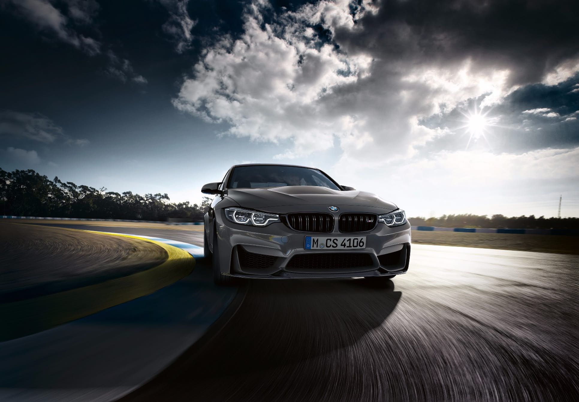 faster lighter more powerful the limited edition bmw m3 limousine wallpaper - medium