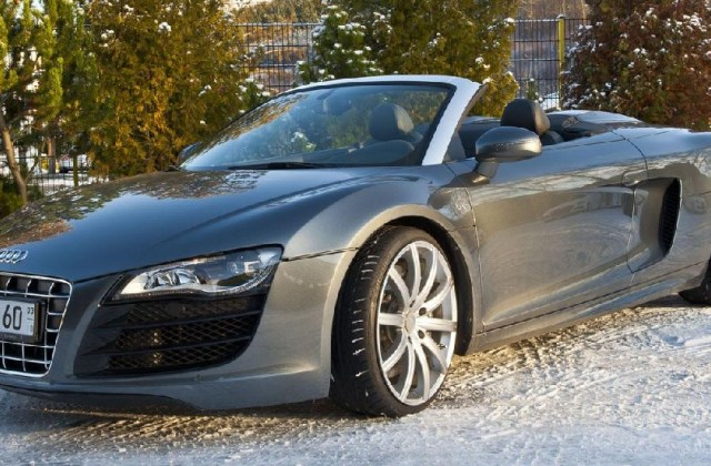 b audi r8 v10 spyder gets 628 hp 2013 - medium