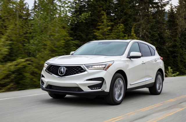 2019 Acura Rdx Review Ratings Specs Prices And Photos 4 Cylinder - Medium