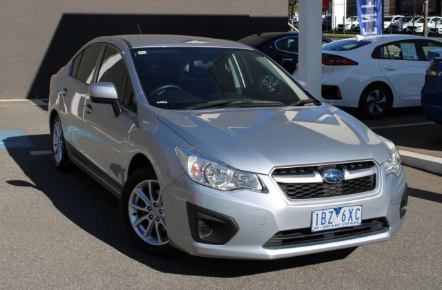 2014 Subaru Impreza 2 0i G4 My14 Four Wheel Drive Silver 4 Cars - Medium