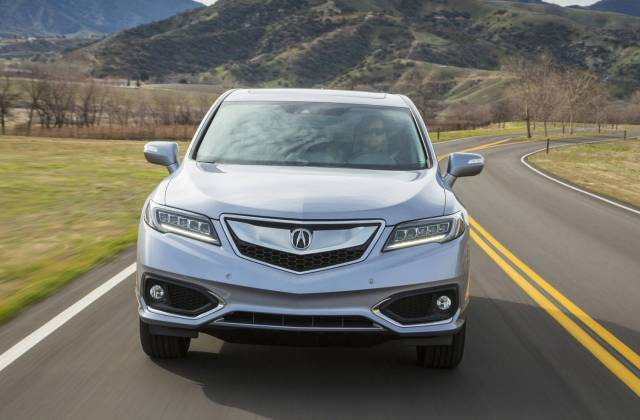 Comparison Acura Rdx Technology Package 2016 Vs Jeep Mdx - Medium