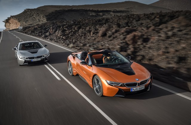 2019 bmw i8 roadster updated coupe debut in l a spy photo - medium