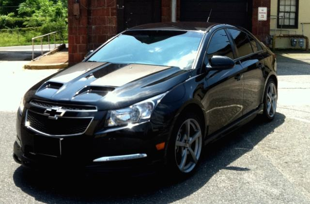 Chevrolet Cruze Hd Wallpapers 7wallpapers Net Black Colour - Medium