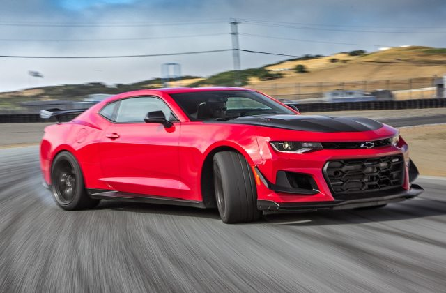 Chevrolet Camaro Zl1 1le 4th Place 2017 Motor Trend Photo - Medium