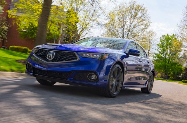 2019 Acura Tlx Gets New 2 4l A Spec Trim The Car Magazine 4 Cylinder - Medium