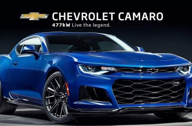 right drive hsv camaro zl1 brings 640 horsepower to chevrolet features - medium