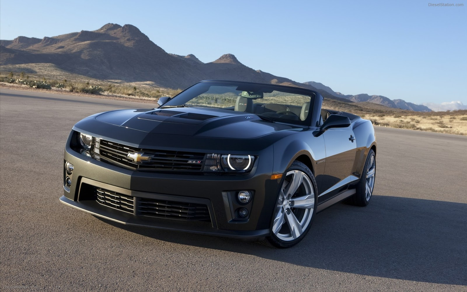 Chevy Camaro 2013 Chevrolet Zl1 Convertible Photo - Medium