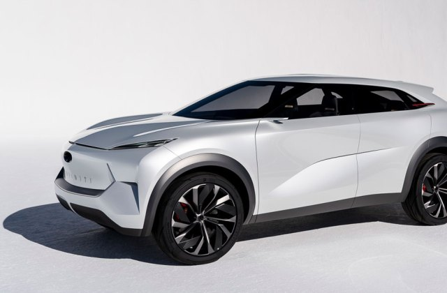The Infiniti Qx Concept Is Perfectly Minimal And Completely Electric Vehicle - Medium