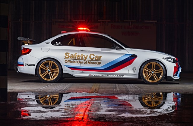 Gallery Bmw M2 Is The 2016 Motogp Safety Car Magazine Sporty Gold Mags 2017 Wallpaper - Medium