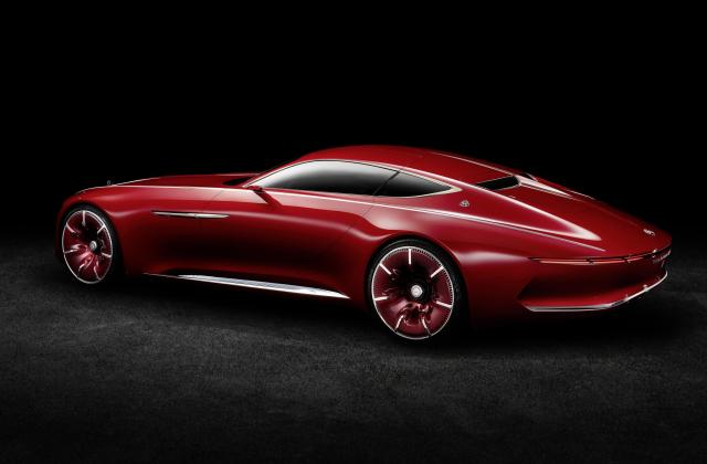Vision Mercedes Maybach 6 Electric Vehicle Concept Is Out Of - Medium