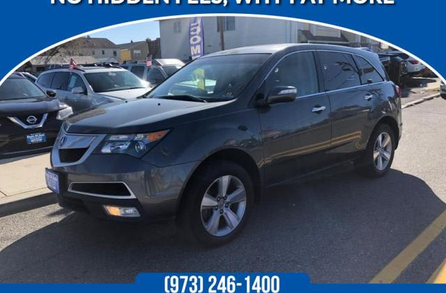 Acura Mdx 2011 In Lodi Saddle Brook Garfield Hasbrouck Heights Nj Route 46 Auto Sales Inc 545380 - Medium