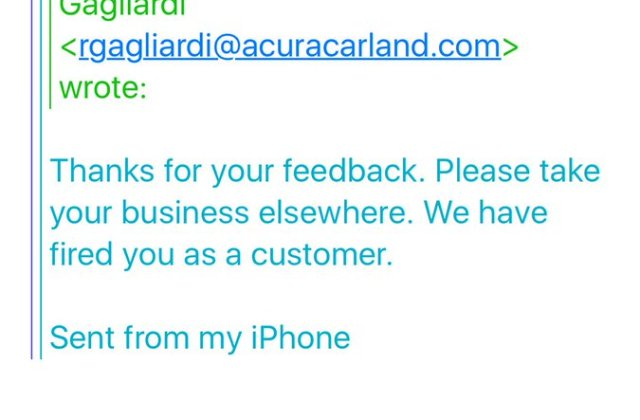 Rutesh On Twitter Acuraclientcare Acura The Email Carland - Medium