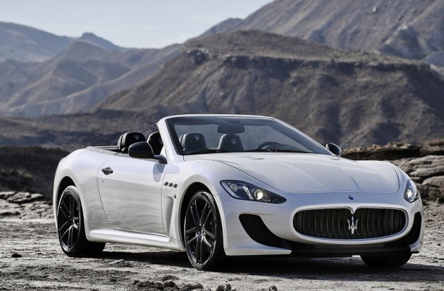 2013 Maserati Grancabrio Mc Top Speed Sport - Medium