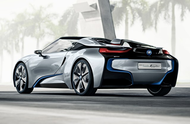 2012 Bmw I8 Concept Spyder Wallpapers And Hd Images Wallpaper - Medium