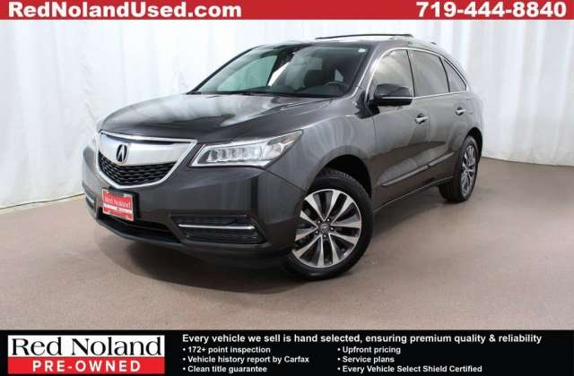2014 acura mdx luxury suv for sale gently used in colorado pre owned - medium