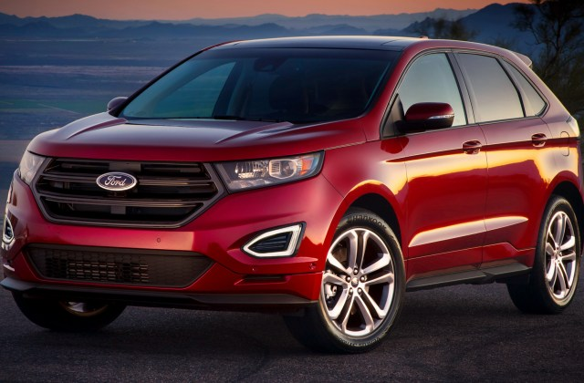 2015 Ford Edge Sport Hd Wallpaper Background Image For - Medium