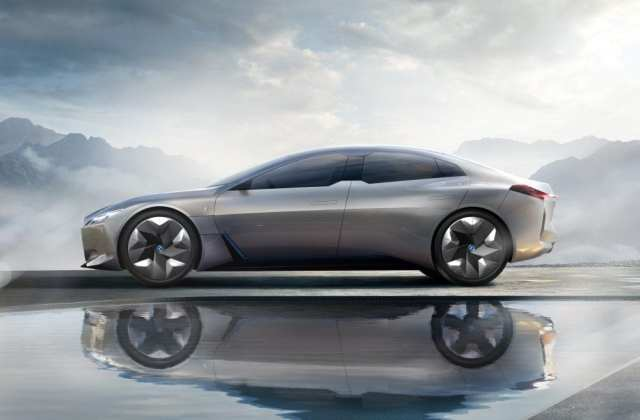 Bmw I Vision Concept Electric Car From Side The Auto Future Vehicle - Medium