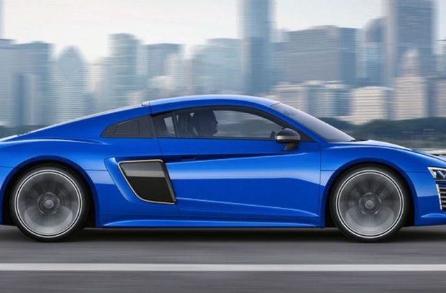 New Audi R8 E Tron Is The Self Driving Electric Supercar Of - Medium