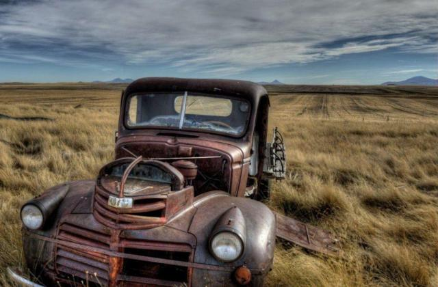 Old Ford Farm Truck 4k Wallpaper Cityconnectapps