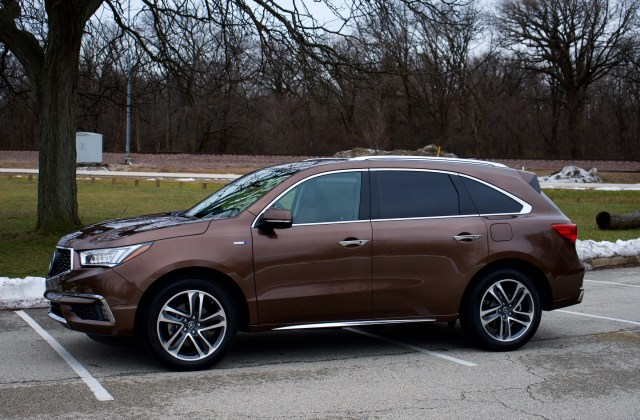 love the hardware hate ui acura mdx sport hybrid car models - medium