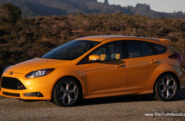 Review 2014 Ford Focus St With Video The Truth About Cars Photo Of - Medium