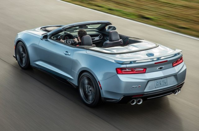 2017 Chevrolet Camaro Zl1 Convertible Arrives In Early Photo - Medium