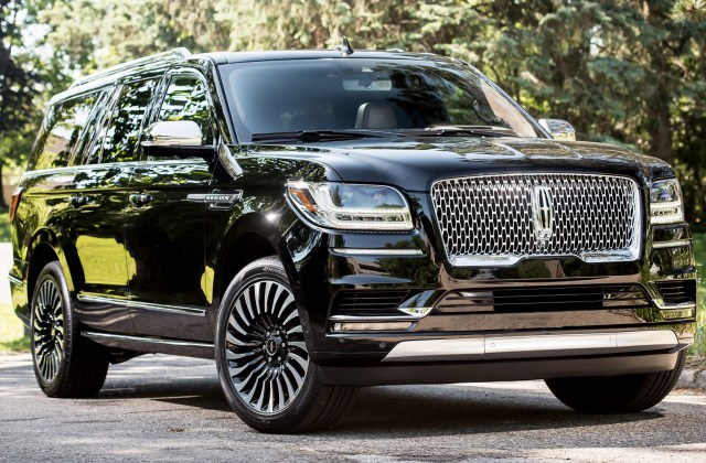 2018 lincoln navigator l wallpapers and hd images car ford c max - medium